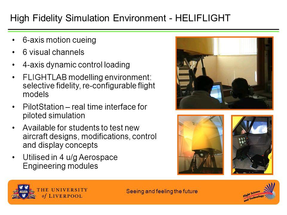High Fidelity Simulation Environment - HELIFLIGHT