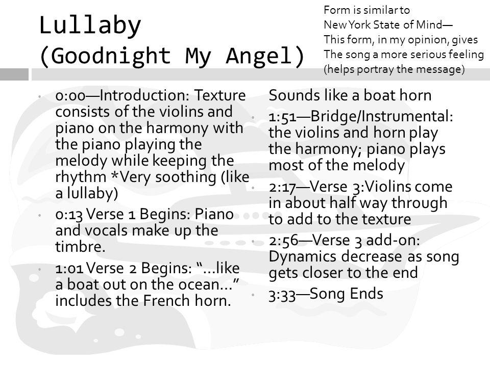 Lyric Lyrics To Lullaby And Goodnight Lyrics To In Lyrics To