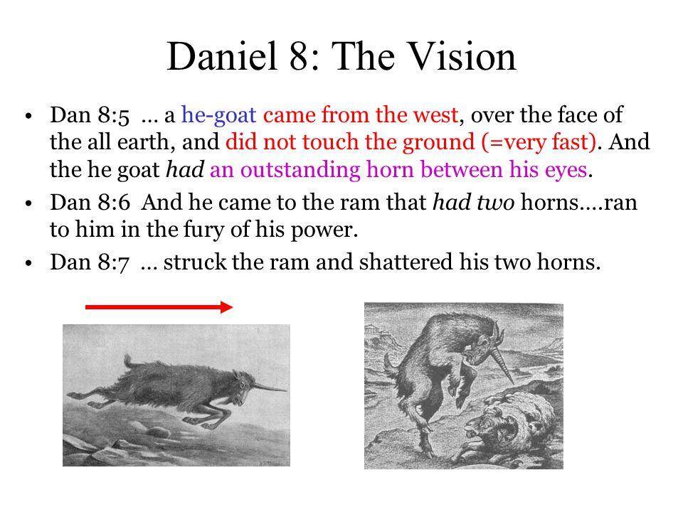 Daniel 8: The Vision