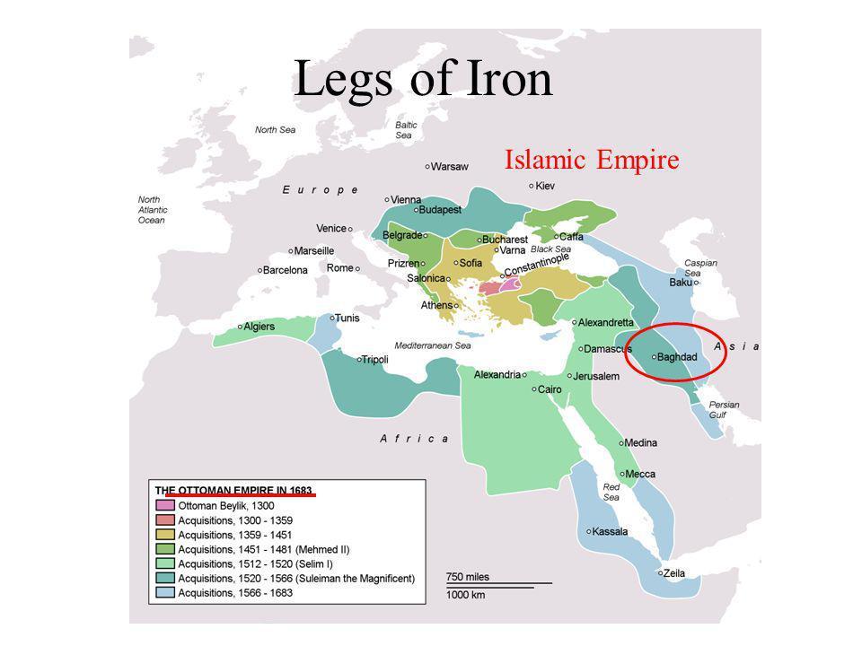 Legs of Iron Islamic Empire