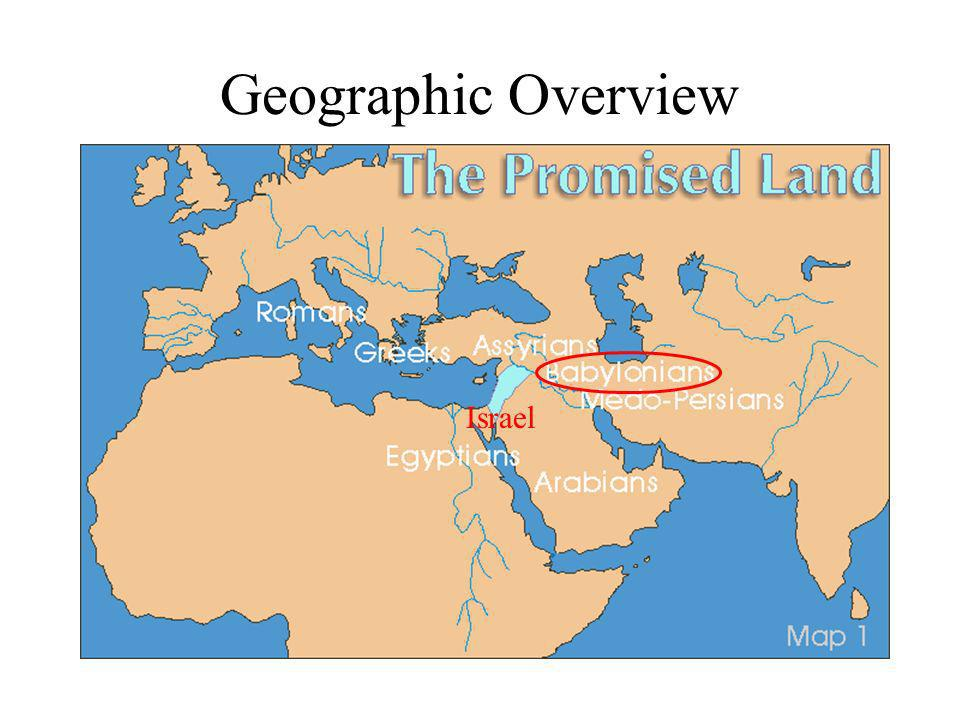 Geographic Overview Israel