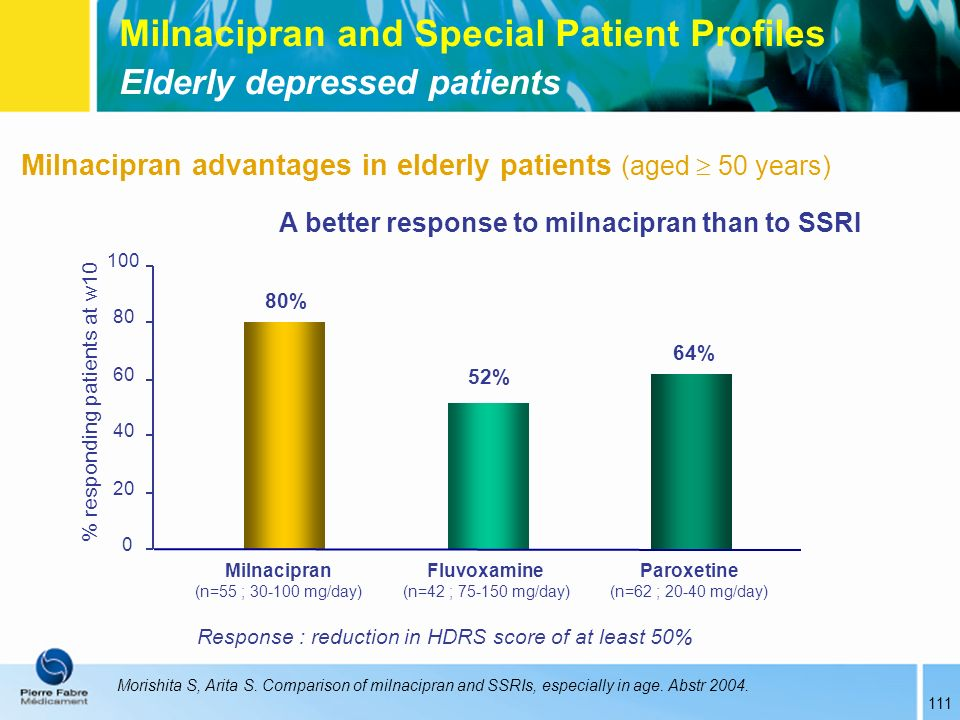 % responding patients at w10