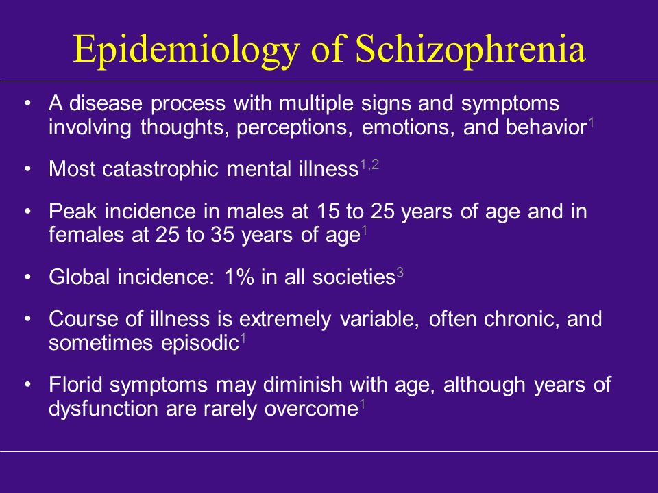 an overview of the mental disease schizophrenia Mental disorder synonyms: psychiatric psychological disorder, mental illness, mental disease: there is a link between religion and schizophrenia, a complex.