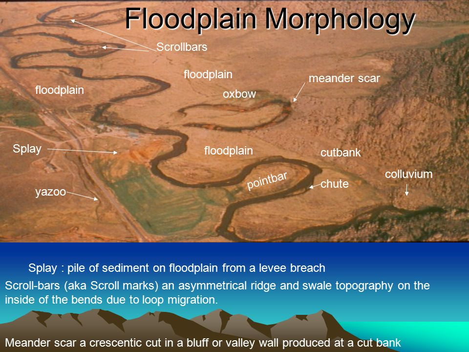 channel networks the drainage basin or watershed is the
