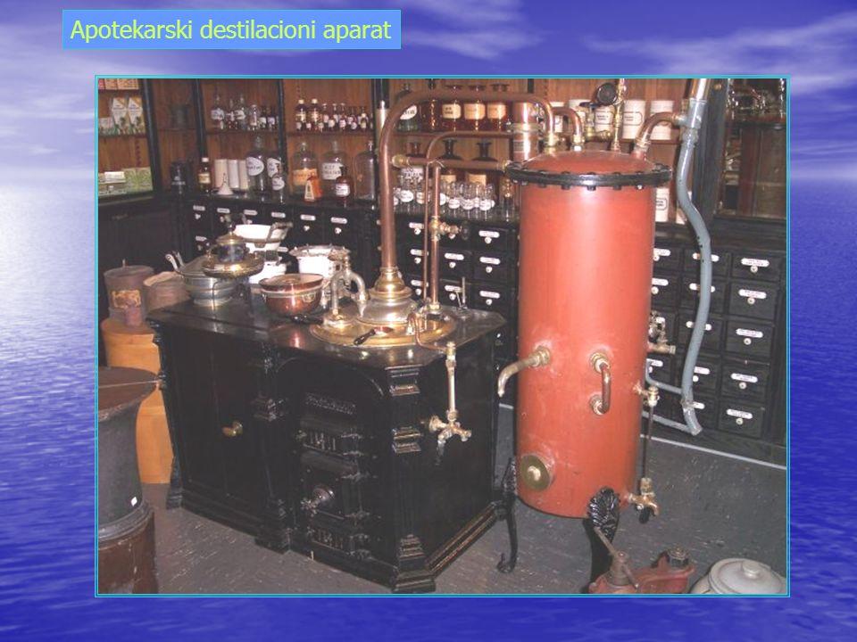 Apotekarski destilacioni aparat