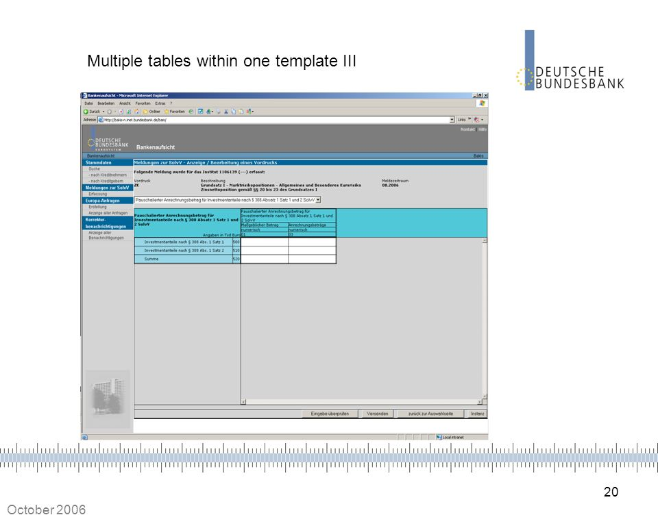 Multiple tables within one template III
