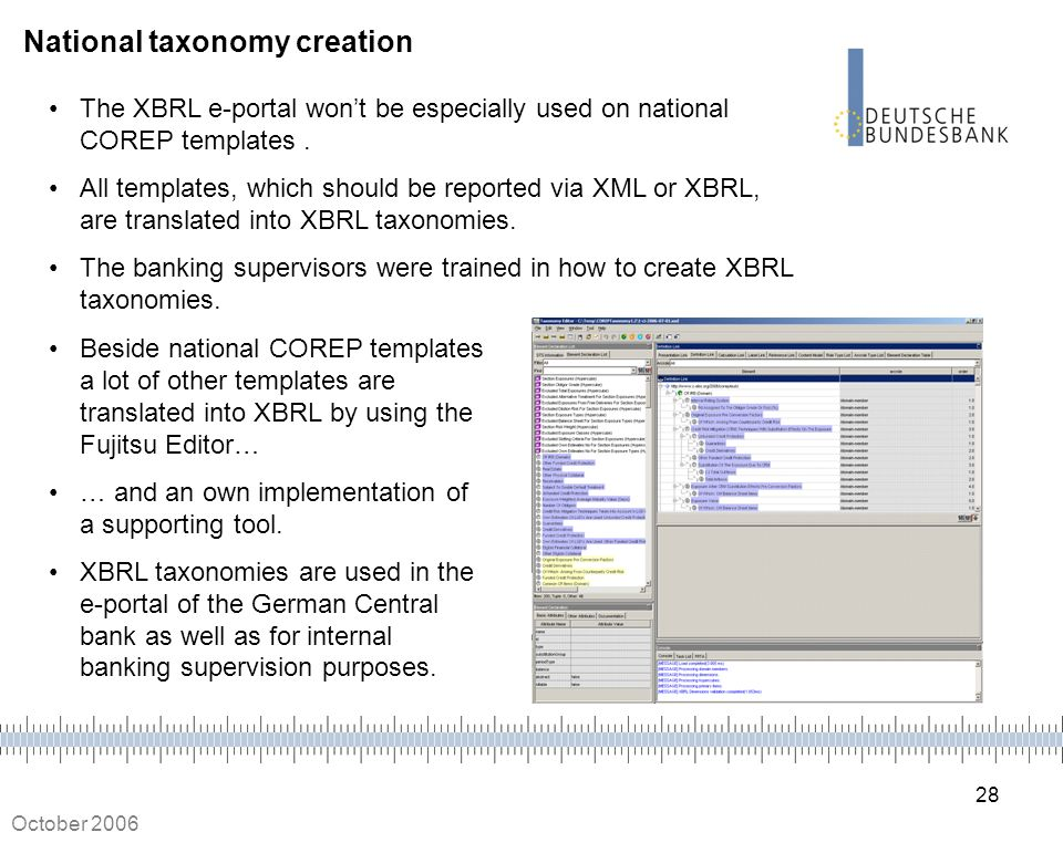 National taxonomy creation