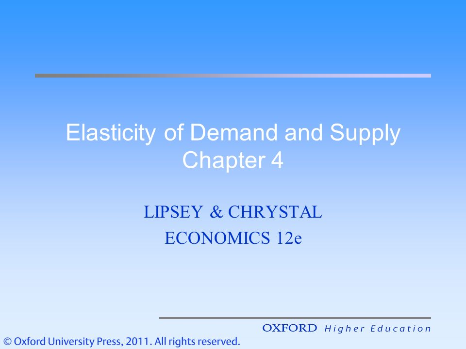 economics elasticity of demand and supply sba In economics, elasticity is defined as the degree of change in demand and supply of consumers and producers with respect to the change in income or price of the commodity particularly, price elasticity of supply is a measure of the degree of change in the supplied amount of commodity [].