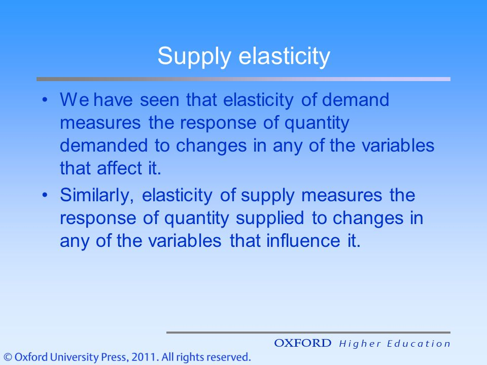 factors that affect the price elasticity of supply Those factors include the to different products and services also affect price elasticity factors that affect pricing decisions by university of.