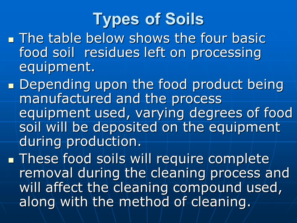 Soil deposits are complex mixtures of organic and for Types of soil and its uses