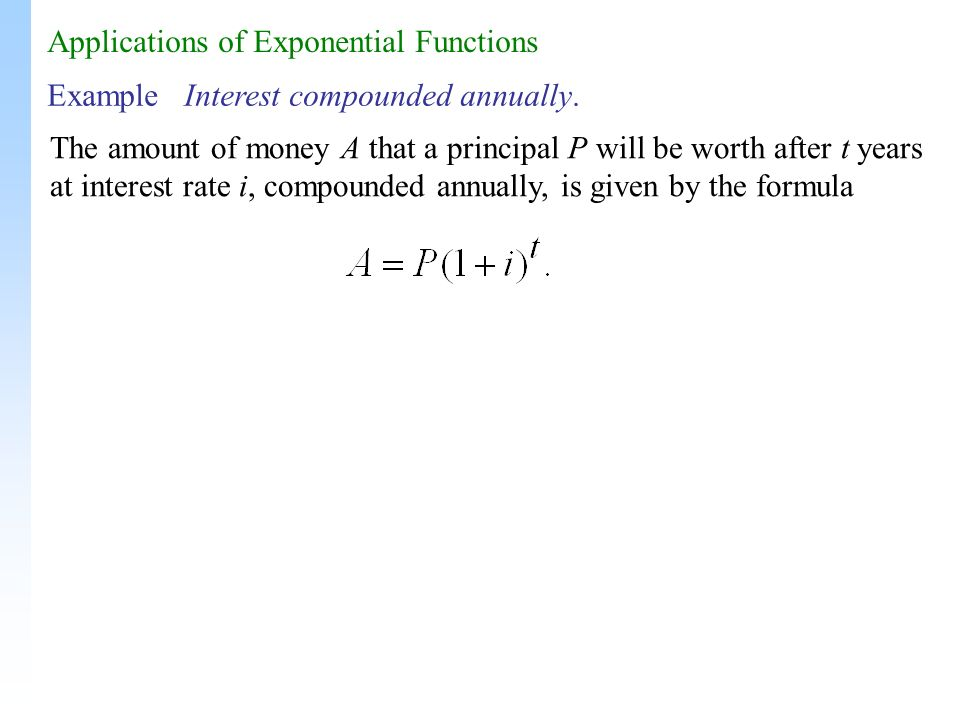how to find the decay rate of an exponential function