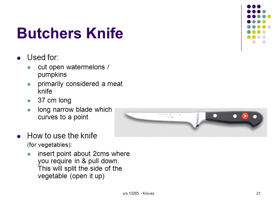tomato knife how to use