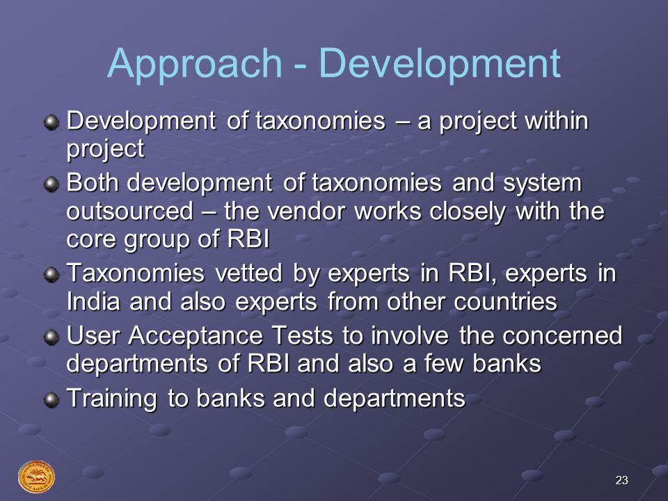 Approach - Development