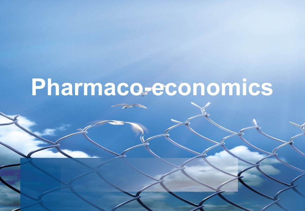 Pharmaco-economics