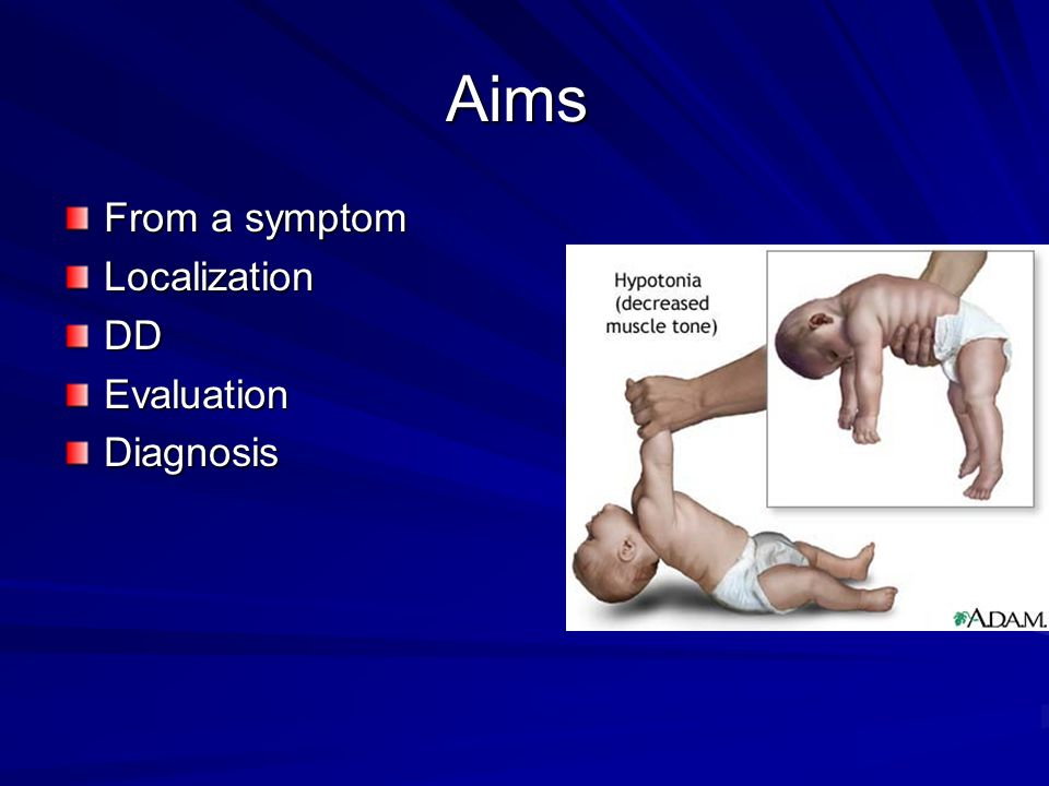Aims From a symptom Localization DD Evaluation Diagnosis