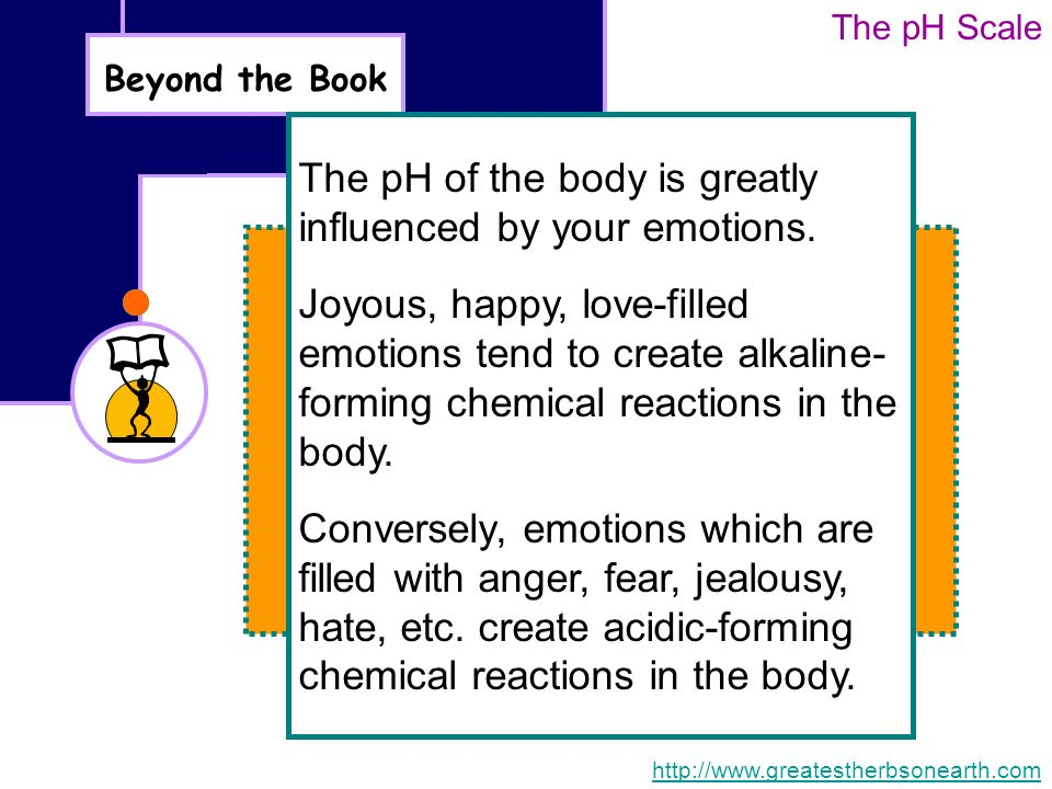 Chemical Reaction And The PH Scale