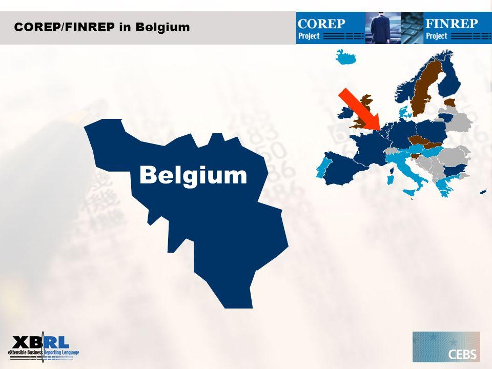 COREP/FINREP in Belgium