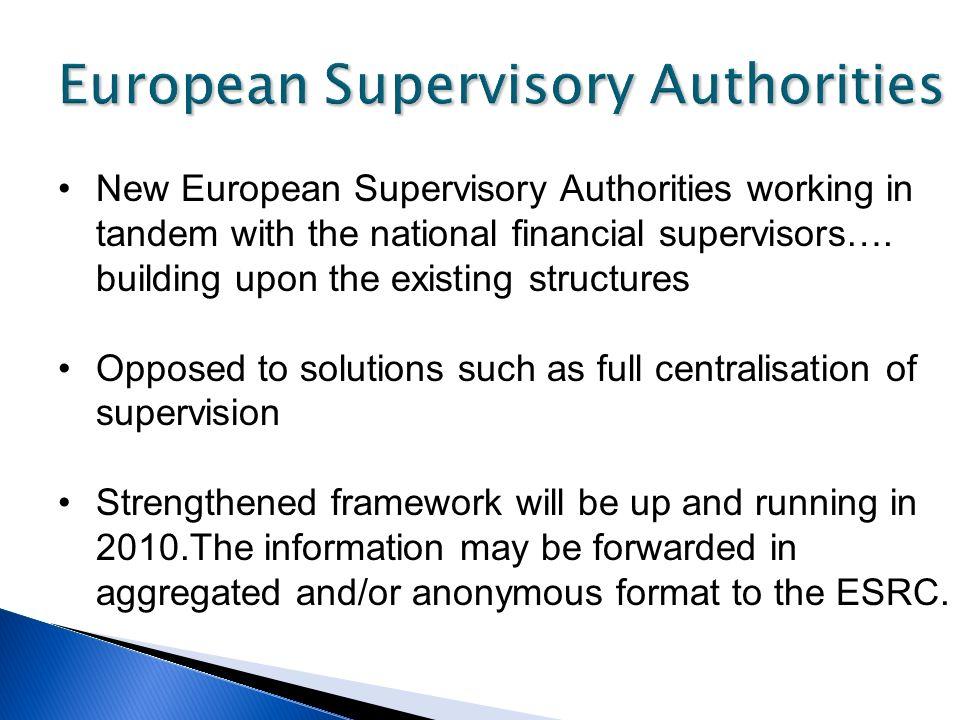 European Supervisory Authorities