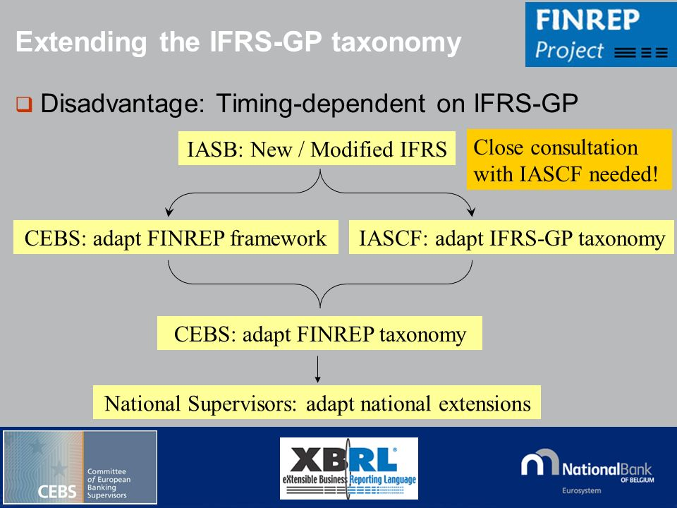 Extending the IFRS-GP taxonomy