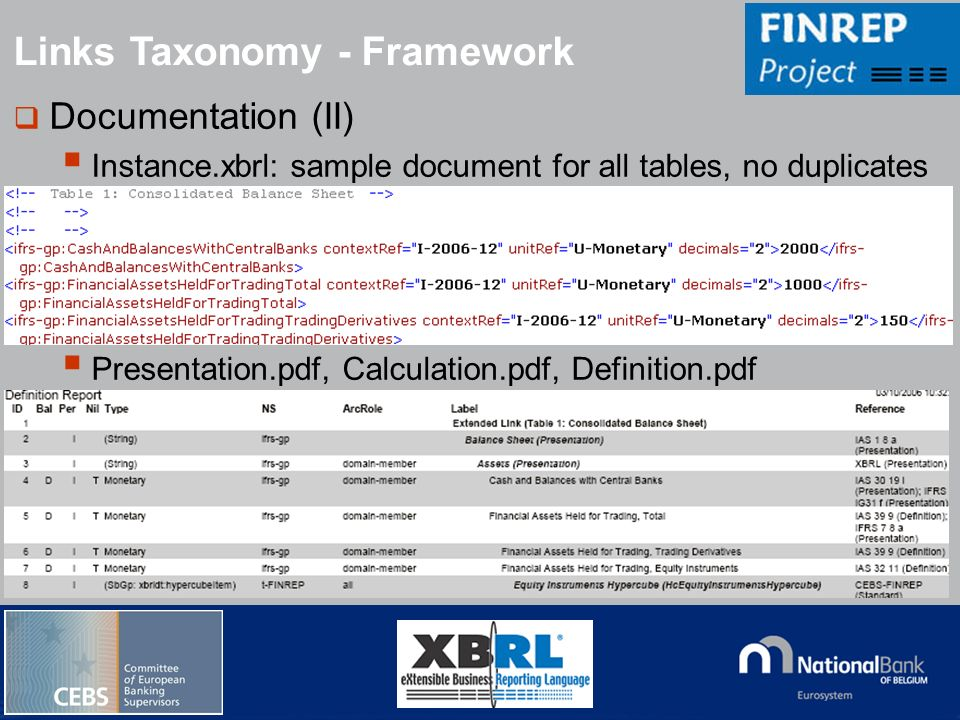 Links Taxonomy - Framework
