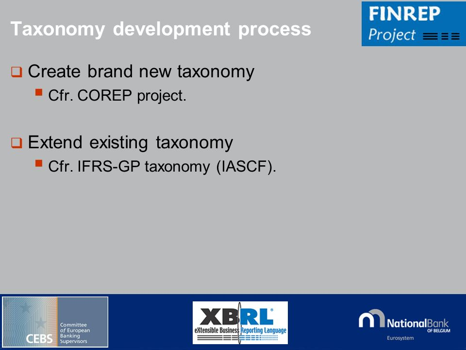 Taxonomy development process