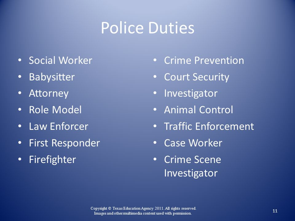 Roles of the Public Safety Professional - ppt download
