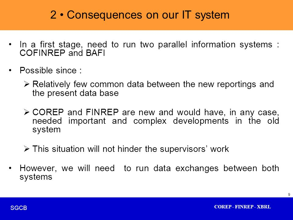 2 • Consequences on our IT system