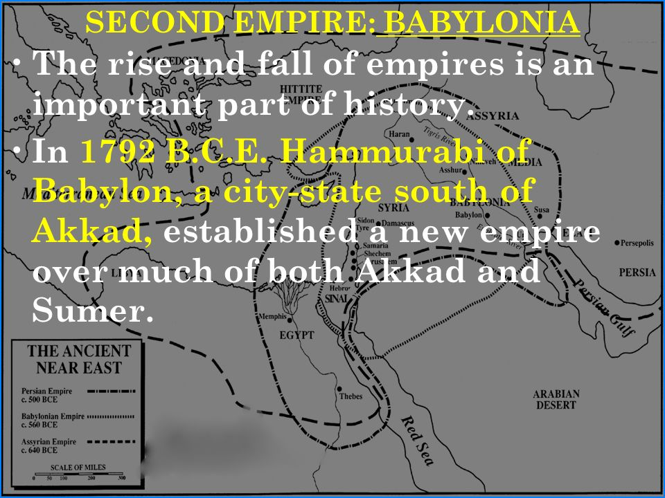 the importance of the code of hammurabi in babylon history The code of hammurabi was one of the earliest and most complete written legal  codes, proclaimed by the babylonian king hammurabi, who reigned from 1792.