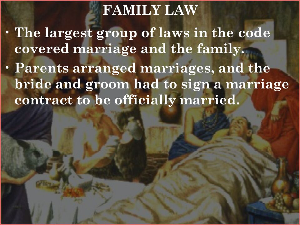 marriage and family code We understand that you pay a great deal for your health insurance, and you want it to cover the maximum amount of services possible however, it is important for anyone seeking.