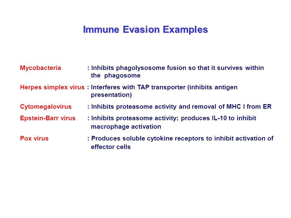 Immune Evasion Examples