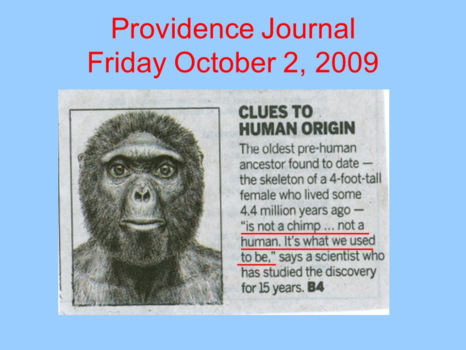Providence Journal Friday October 2, 2009