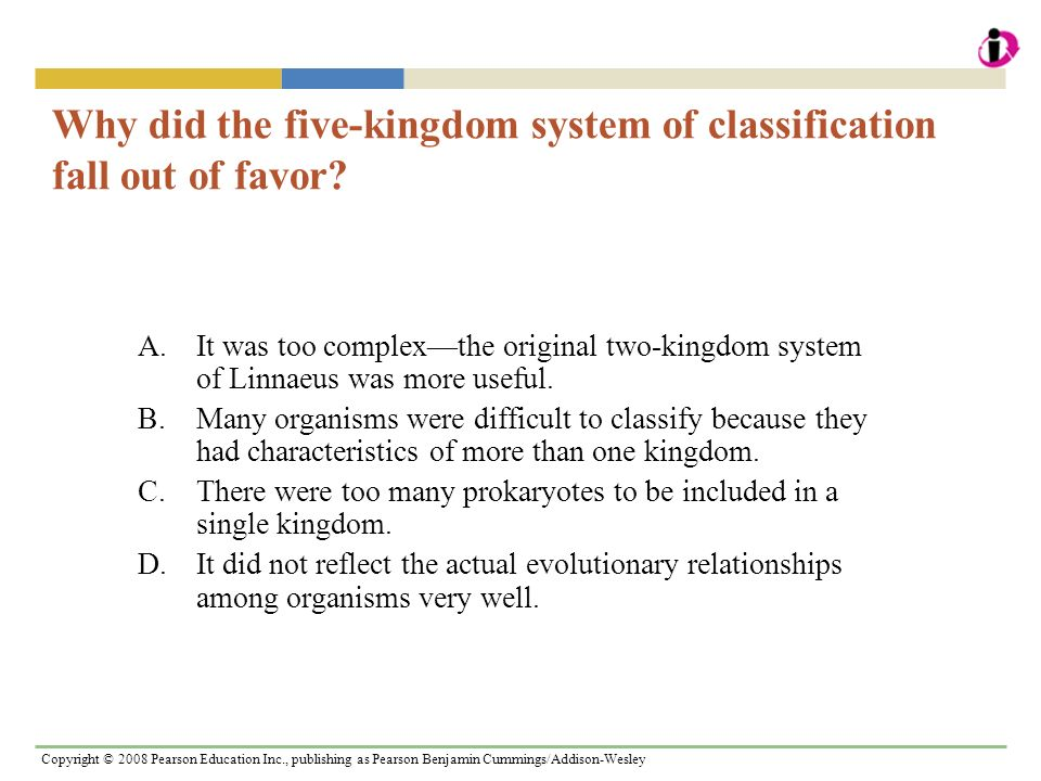 Why did the five-kingdom system of classification fall out of favor