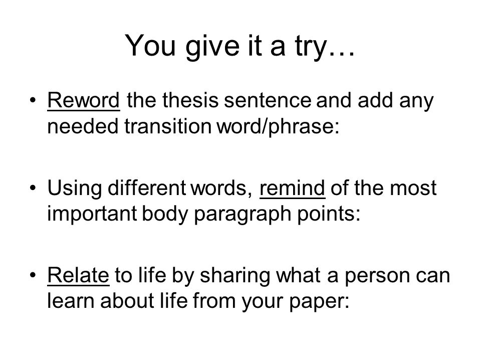 transition words in a essay Transitional words and phrases connect and relate ideas, sentences, and paragraphs they assist in the logical flow of ideas as they signal the relationship between.