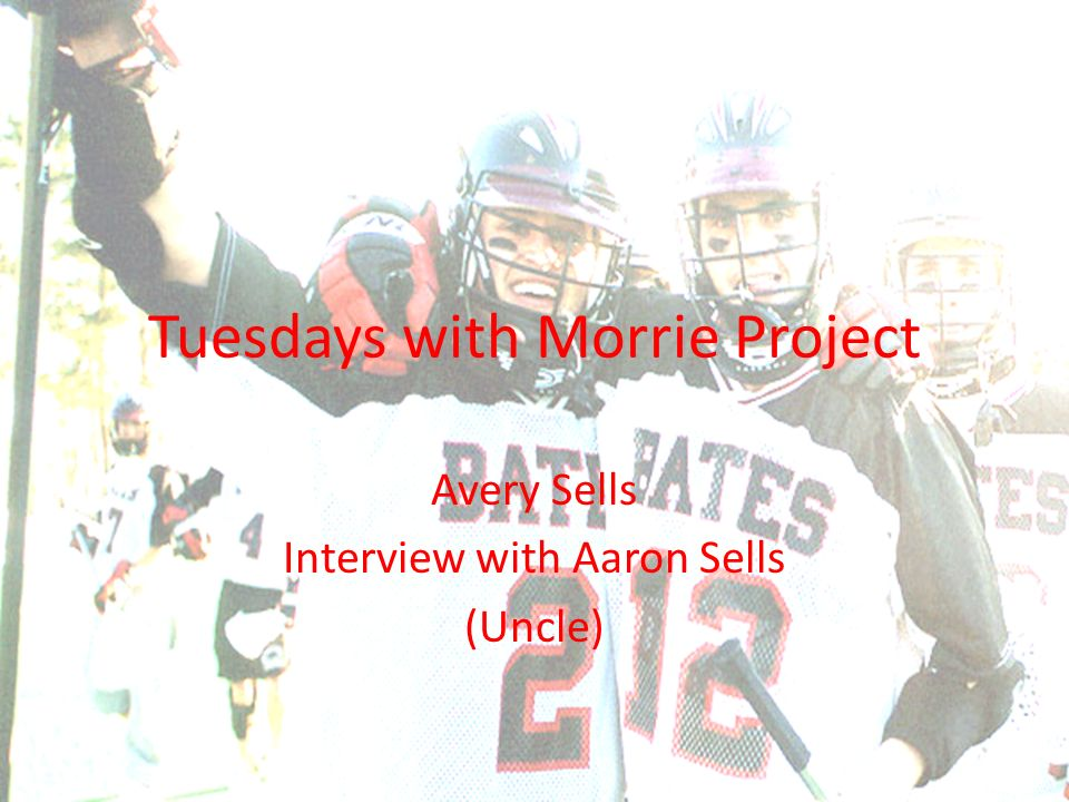 tuesdays with morrie project