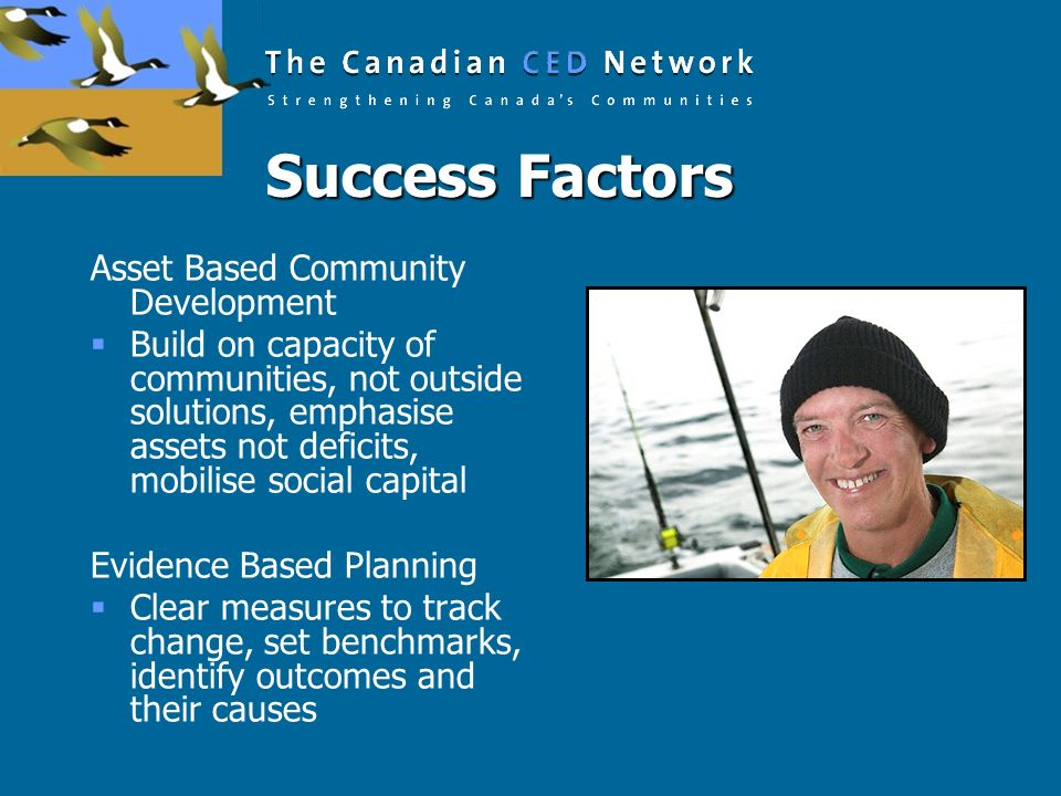 Success Factors Asset Based Community Development