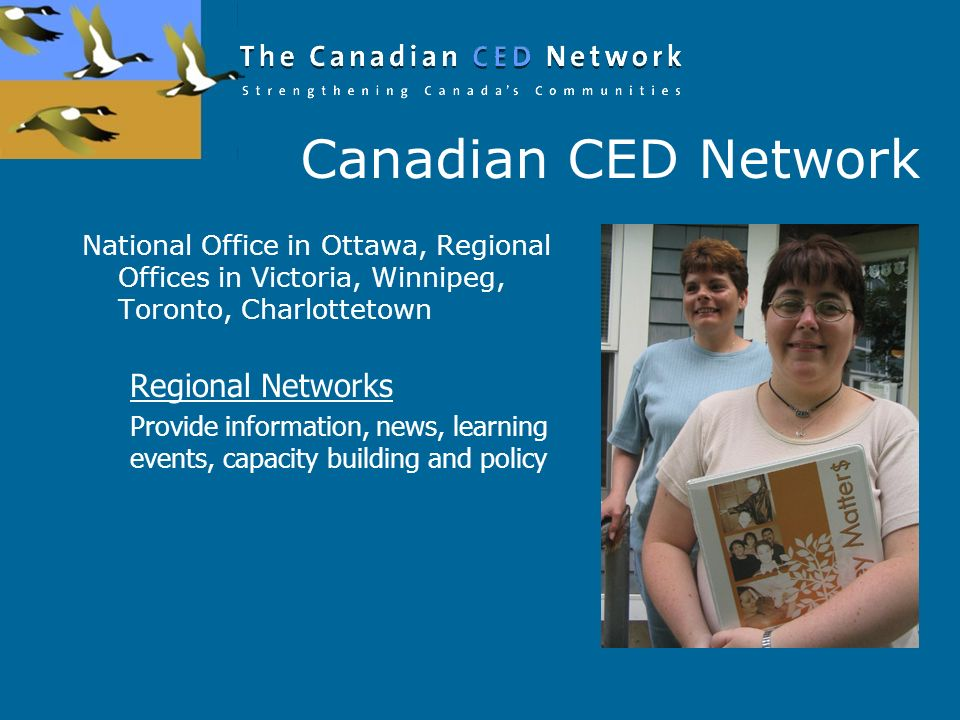 Canadian CED Network Regional Networks