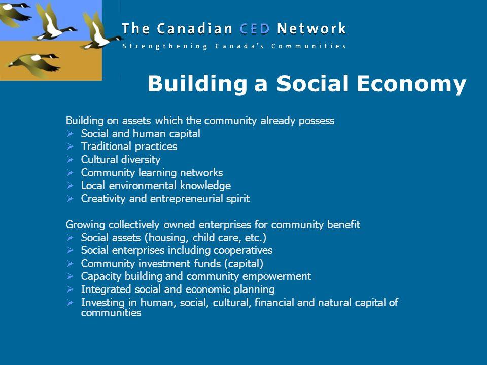 Building a Social Economy