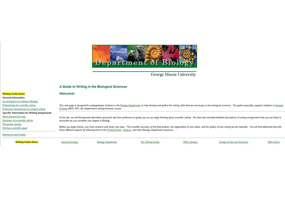 http://classweb.gmu.edu/biologyresources/writingguide/index.htm