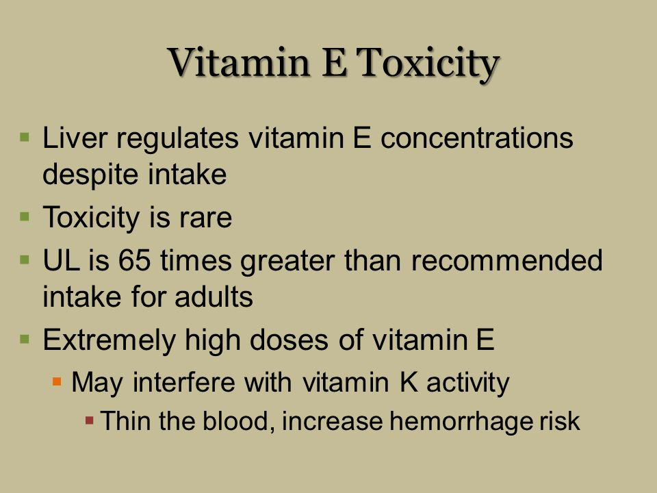 The Fat-Soluble Vitamins: A, D, E, and K - ppt video ...