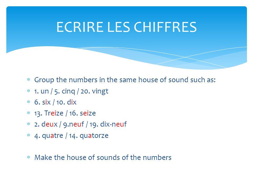 Les chiffres les nombres ppt video online download for Le chiffre treize