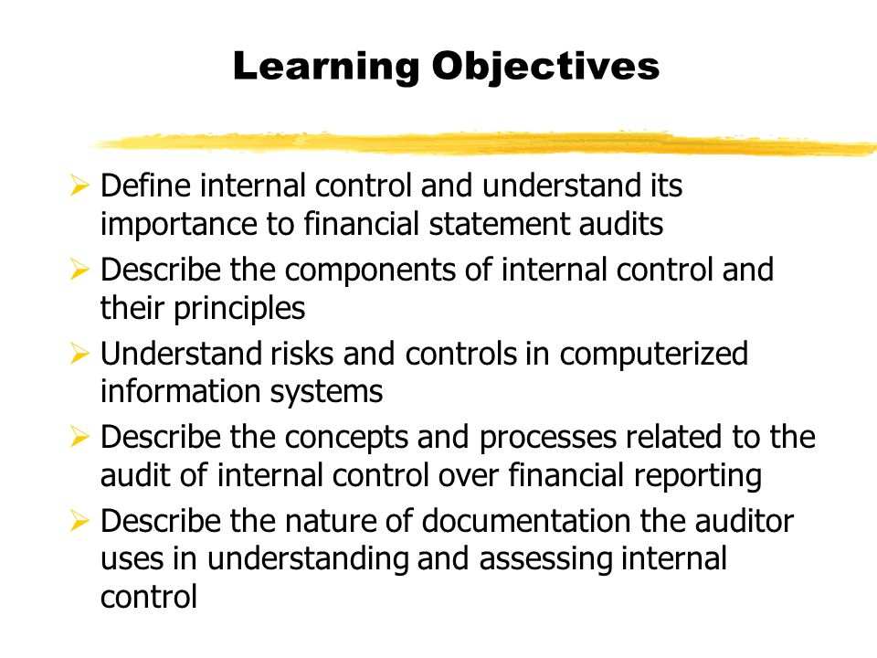 Internal Control Audit And Financial Reporting Accounting Essay