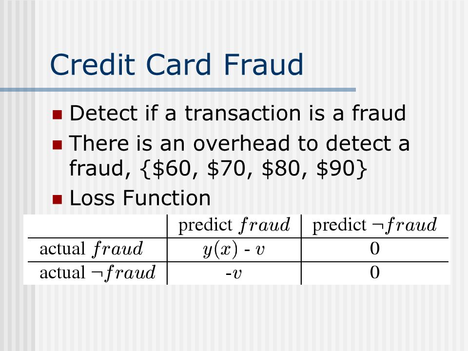 Credit Card Fraud Detect if a transaction is a fraud