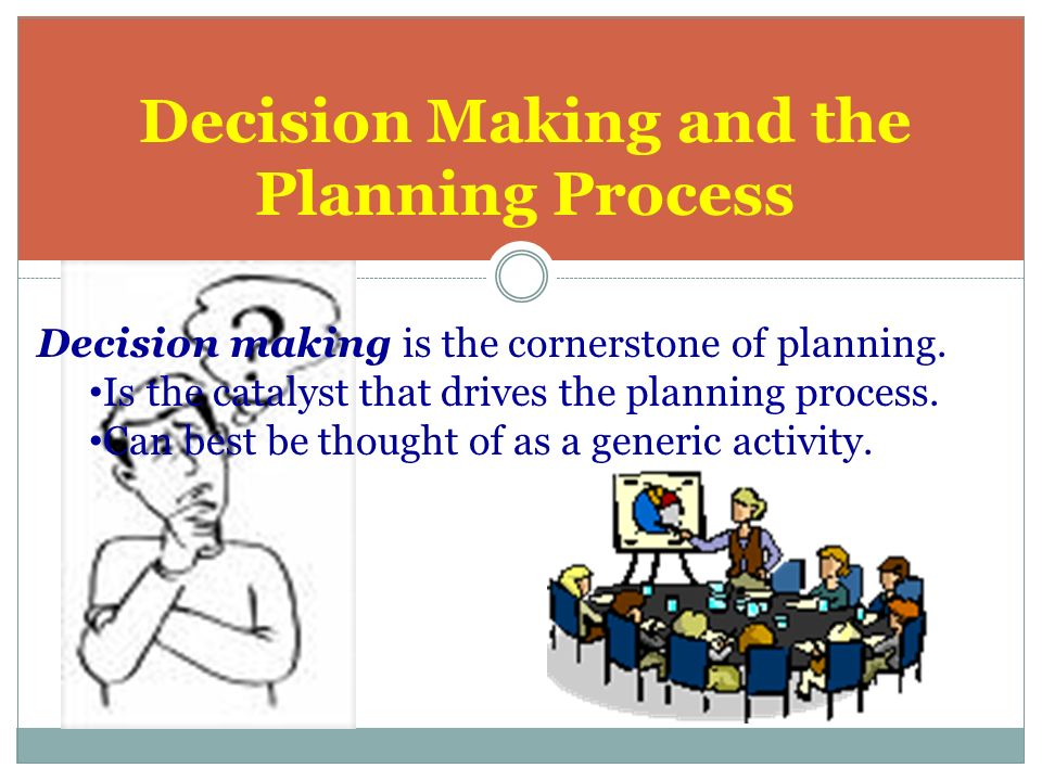 planning and decision making 2 essay Access to over 100,000 complete essays and term papers  analysis of the decision-making process-  if the majority of the decisions are wrong you definitely need to have a better decision making plan planning plays a huge role in the decision process, but most often decision are of a quick process without planning ahead, which is often.