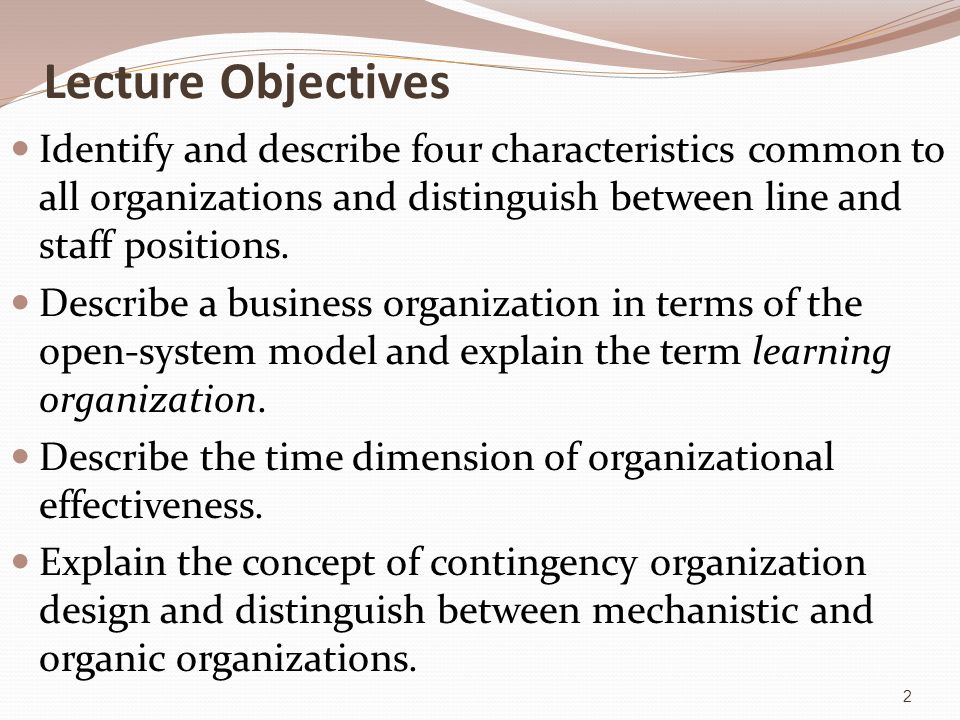 organization effectiveness glossary Promoting teacher effectiveness: glossary july 2015  lincs glossary—iii   making to various role groups in an organization and works toward a common.
