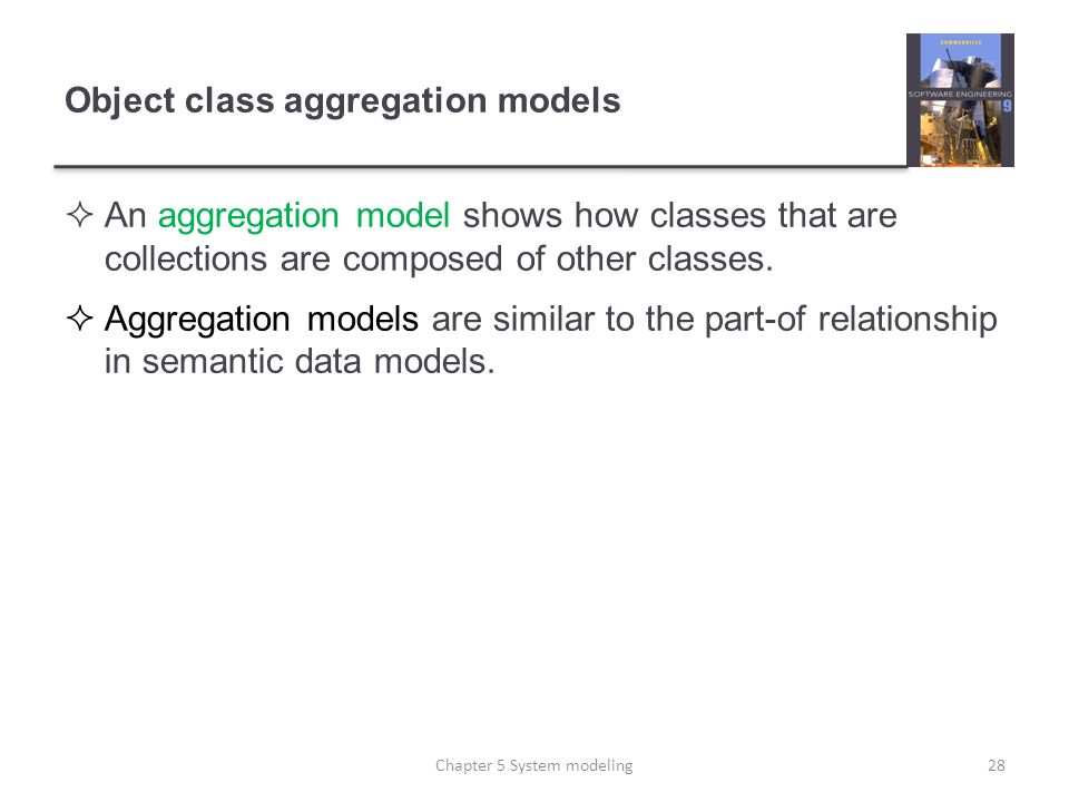 Object class aggregation models