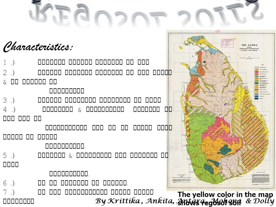 Soils of sri lanka ppt video online download for Soil yellow color
