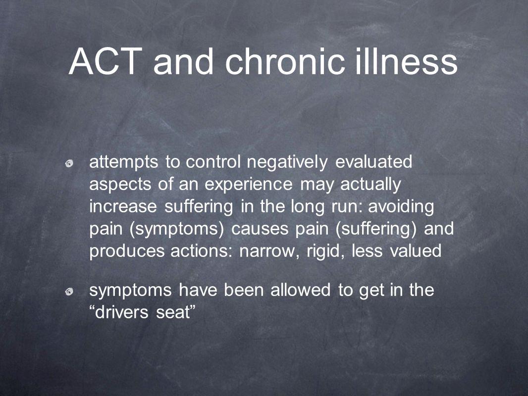 ACT and chronic illness
