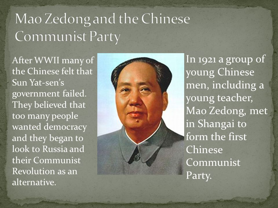 an essay on the chinese communist revolution Many chinese were angry and became interested in the communist revolution in russia communist party in 1921, a group of young men met in shanghai to form the first chinese communist party, headed by mao zedong  nor an essay, nor a painting, nor a piece of embroidery it cannot be so refined, so leisurely and gentle, so temperate, kind.