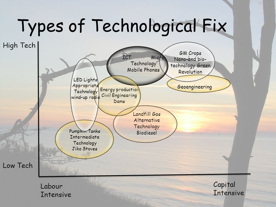 Types of Technological Fix