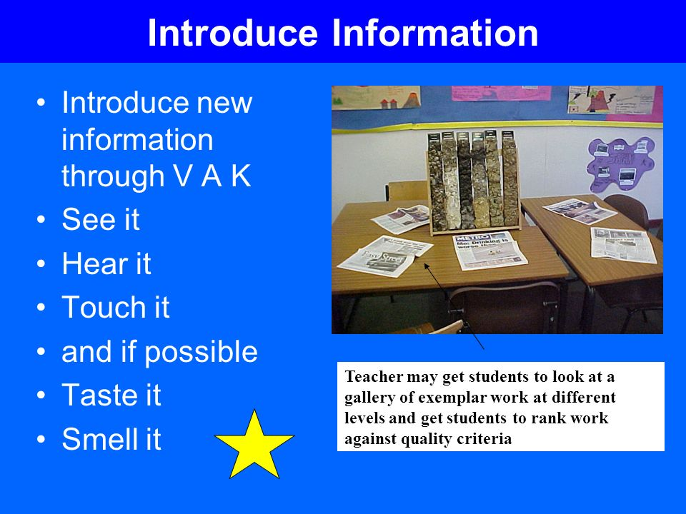 Introduce Information